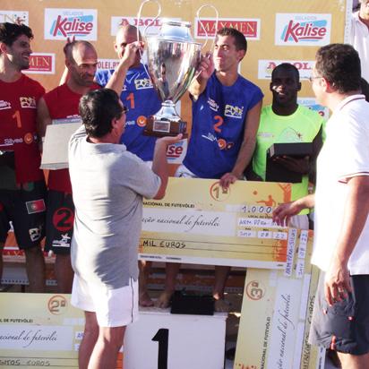 Final Campeonato Nacional de Futevólei 2010 - Armação de Pêra, Silves