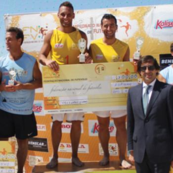 II Etapa Campeonato Nacional de Futevólei 2012 - Espinho