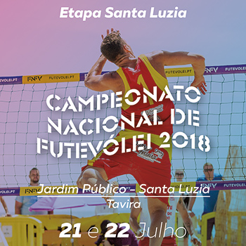 4th stage - National Footvolley Championship 2018 - Santa Luzia-Tavira