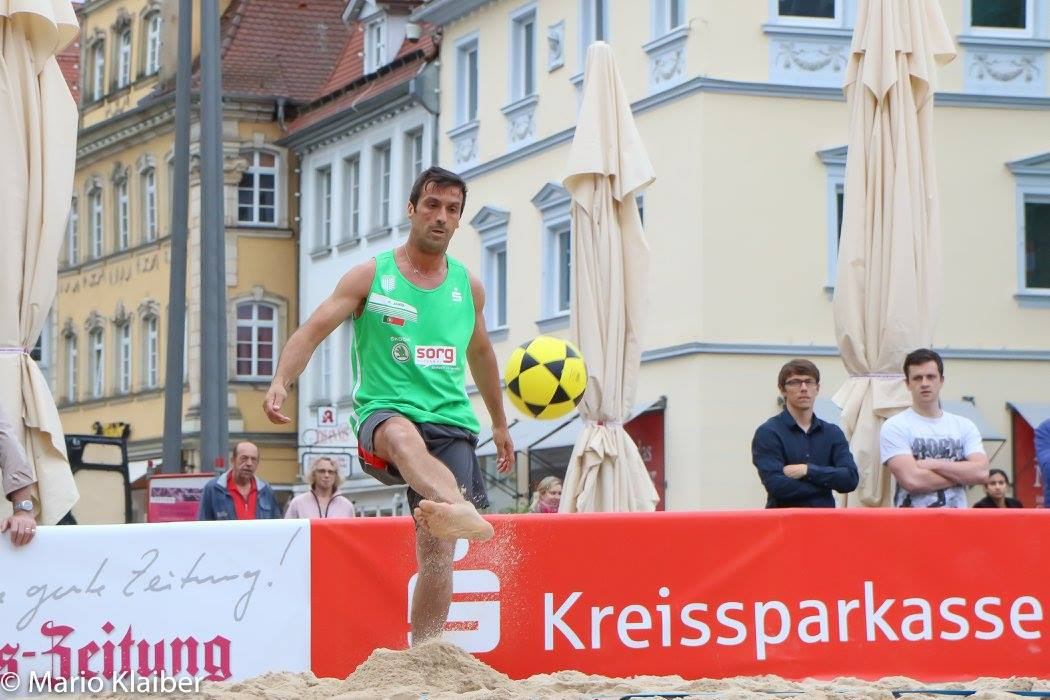 I European Footvolley Championship - Germany 2016 will feature the presence of two Portuguese teams
