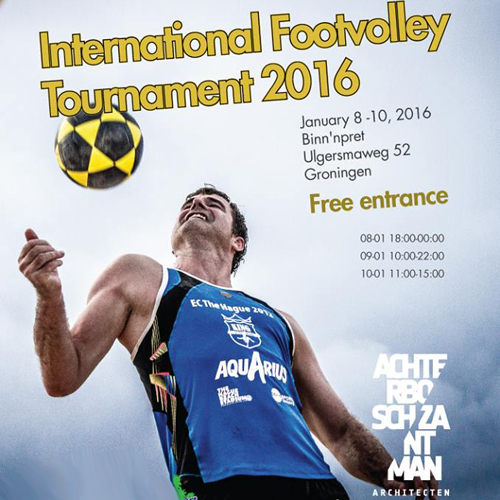 Portugal representado no International Footvolley Tournament 2016 - Holanda