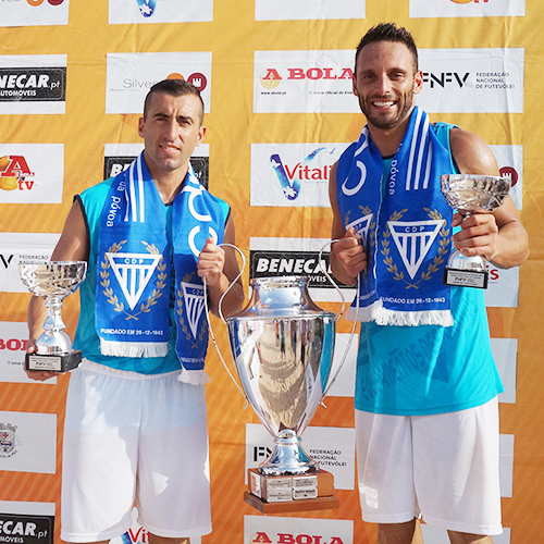 Nelson Pereira and Miguel Pinheiro are the 2015 national champions