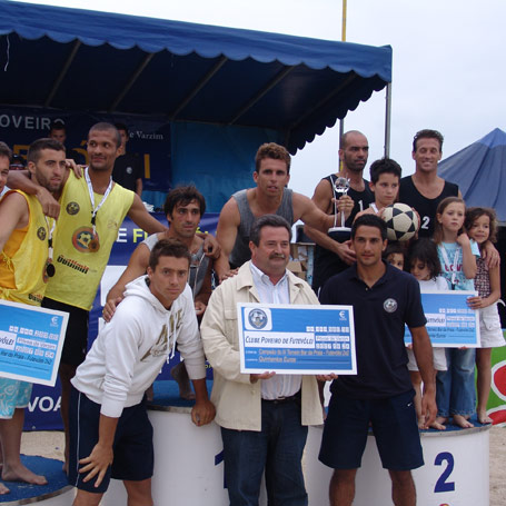 2nd stage - National Footvolley Championship 2007 - Póvoa de Varzim