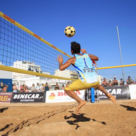 Ist stage of the National Footvolley Championship 2015 - Quarteira