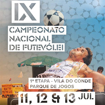 1st stage - National Footvolley Championship 2014 - Vila do Conde