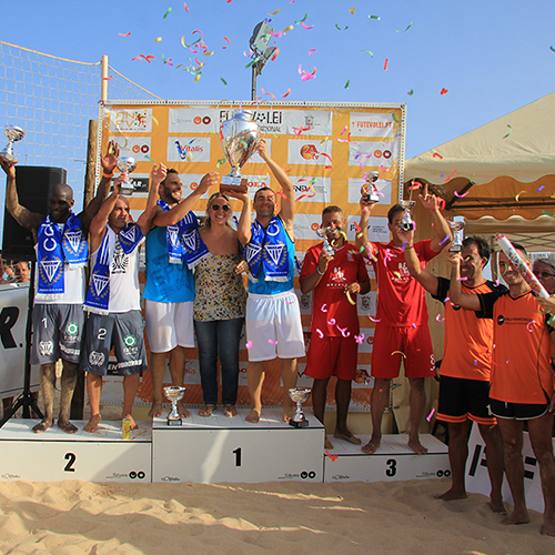 National Footvolley Championship Final 2015 in Armação de Pêra - Silves