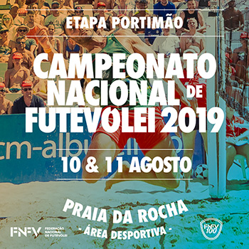 5th stage - National Footvolley Championship 2019 - Portimão
