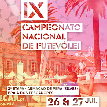3rd stage - National Footvolley Championship 2014 - Armação de Pêra, Silves