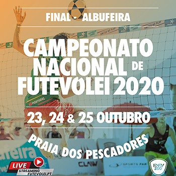Final - National Championship Footvolley 2020 - Albufeira