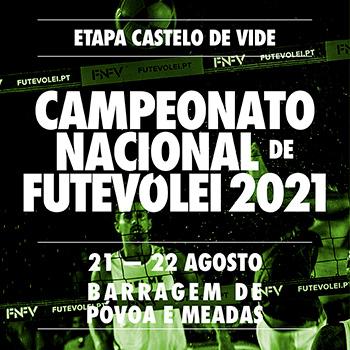 3rd stage - National Footvolley Championship 2021 - Castelo de Vide