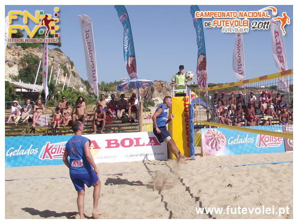 2nd stage - National Footvolley Championship 2011 - Ferragudo, Lagoa