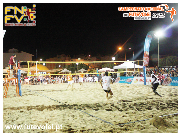 4th stage - National Footvolley Championship 2012 - Santa Luzia, Tavira