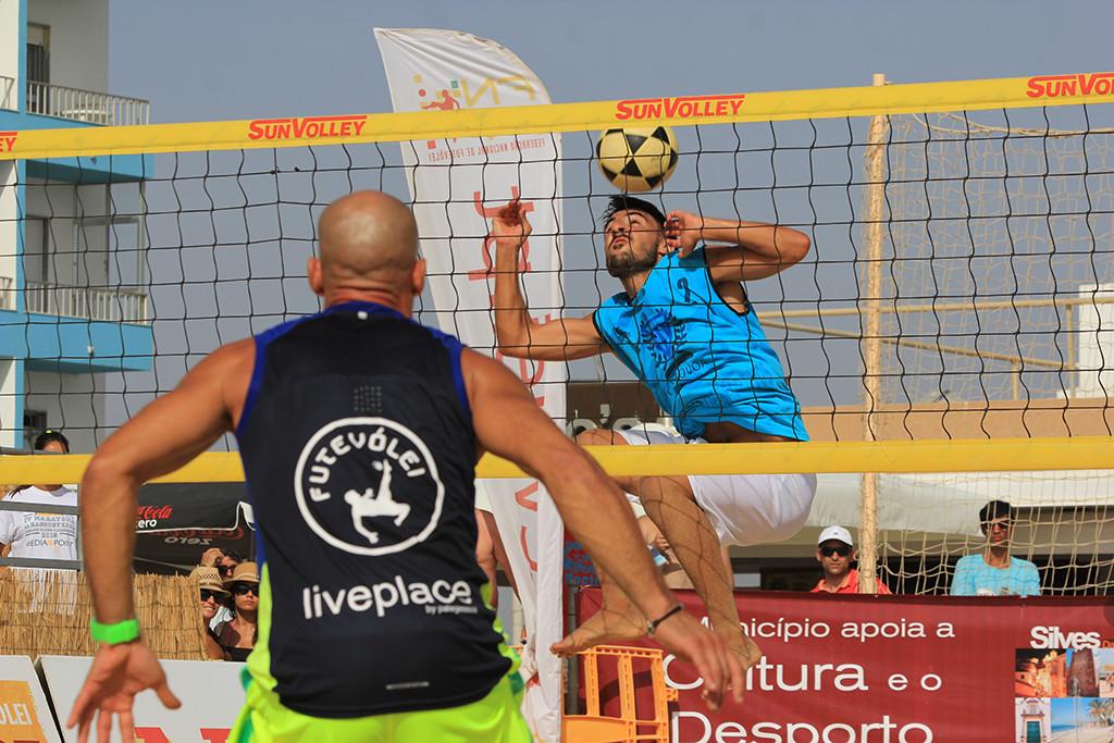 Final do Campeonato Nacional de Futevólei 2015 - Armação de Pêra (Silves)
