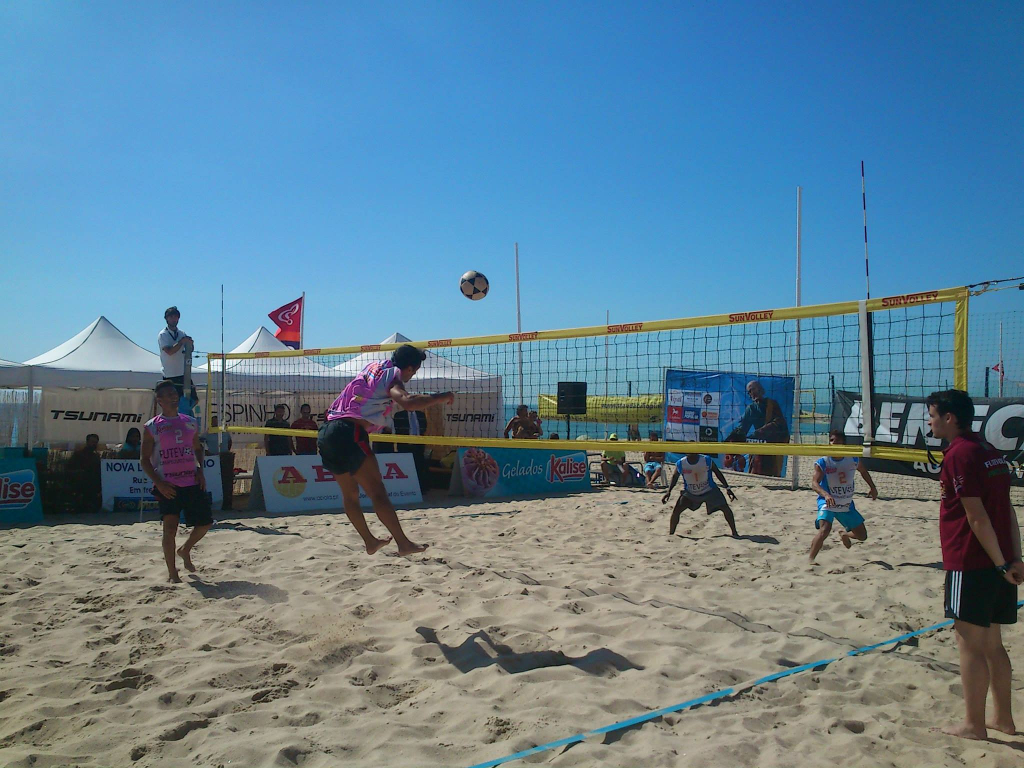 1st stage - National Footvolley Championship 2013 - Espinho