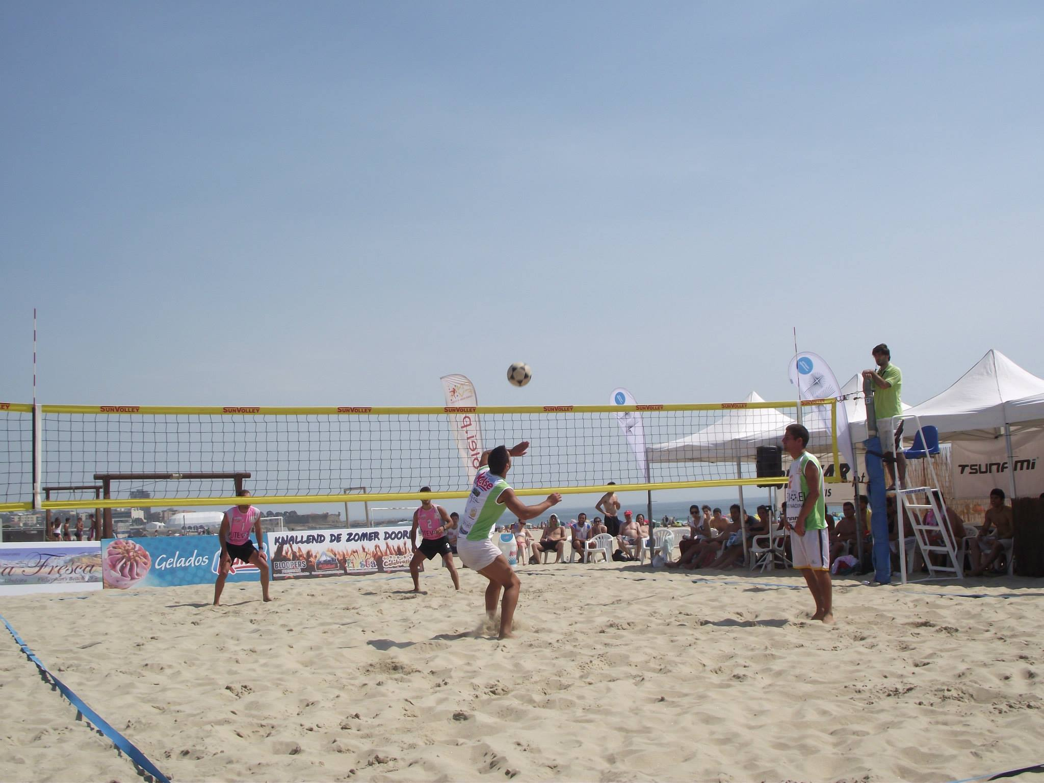 2nd stage - National Footvolley Championship 2013 - Matosinhos