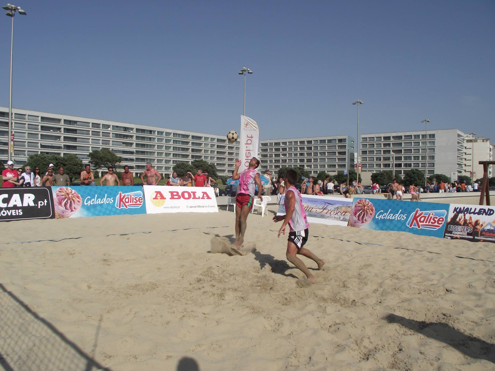 2nd stage - National Footvolley Championship 2013 - Matosinhos