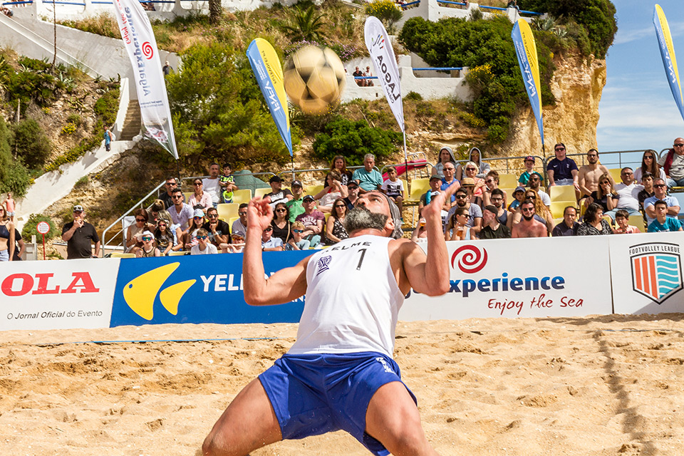 1st stage - National Footvolley Championship 2018 - Carvoeiro, Lagoa