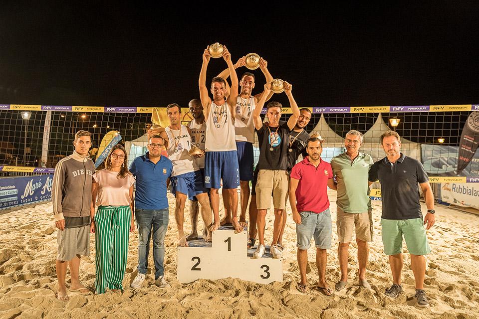 4th stage - National Footvolley Championship 2018 - Santa Luzia-Tavira