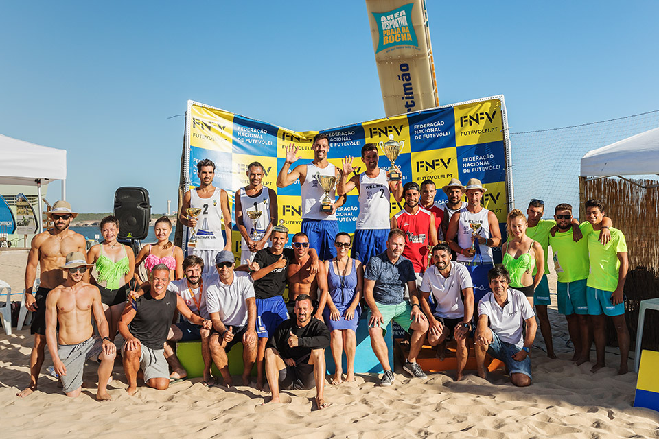 5th stage - National Footvolley Championship 2018 - Portimão
