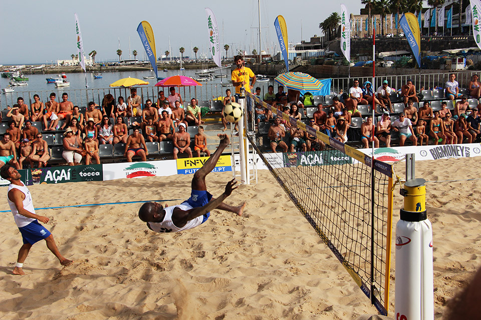 6th stage - National Footvolley Championship 2018 - Cascais