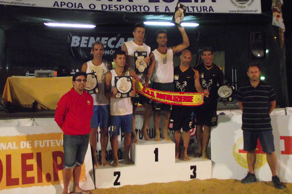 2nd stage - National Footvolley Championship 2014 - Santa Luzia, Tavira
