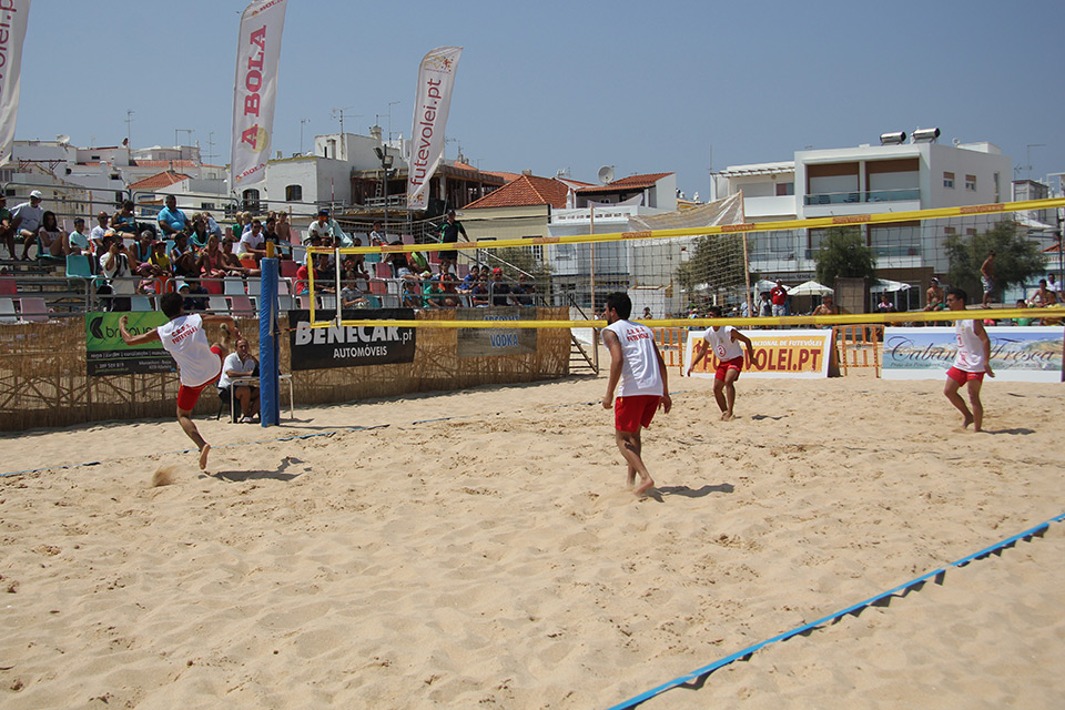 3rd stage - National Footvolley Championship 2014 - Armação de Pêra, Silves