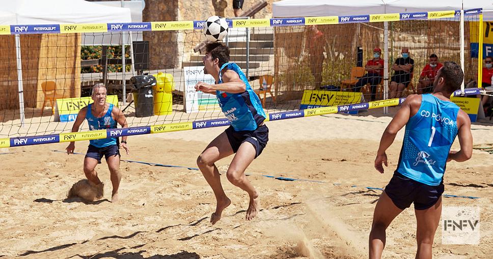 1st stage - National Footvolley Championship 2021 - Ferragudo (Lagoa)