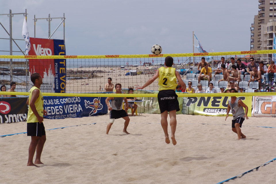1nd stage - National Footvolley Championship 2007 - Póvoa de Varzim