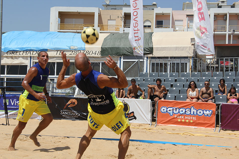 3rd stage - National Footvolley Championship 2016 - Quarteira