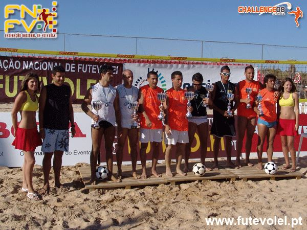 2nd stage - National Footvolley Championship 2008 - Portimão