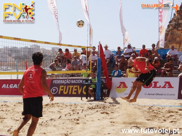 4th stage - National Footvolley Championship 2008 - Ferragudo, Lagoa