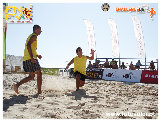 3rd stage - National Footvolley Championship 2009 - Portimão