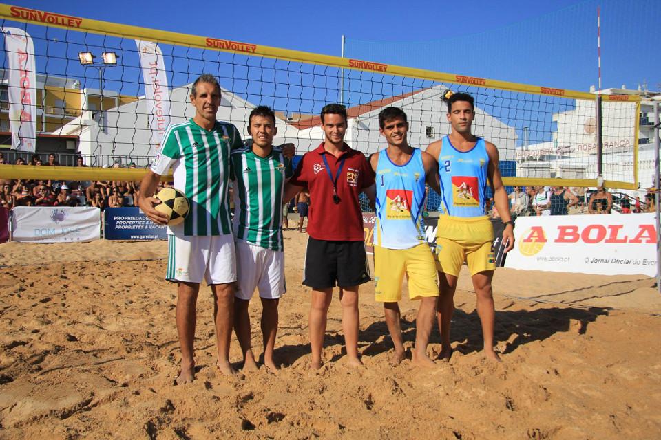 I Etapa do Campeonato Nacional de Futevólei 2015 - Quarteira