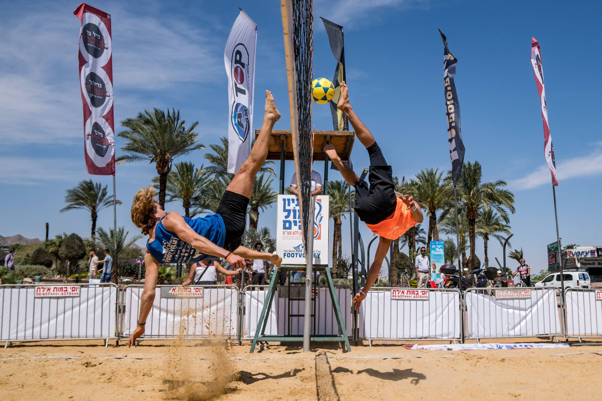 Nelson Pereira / Miguel Pinheiro were at a great level in Israel