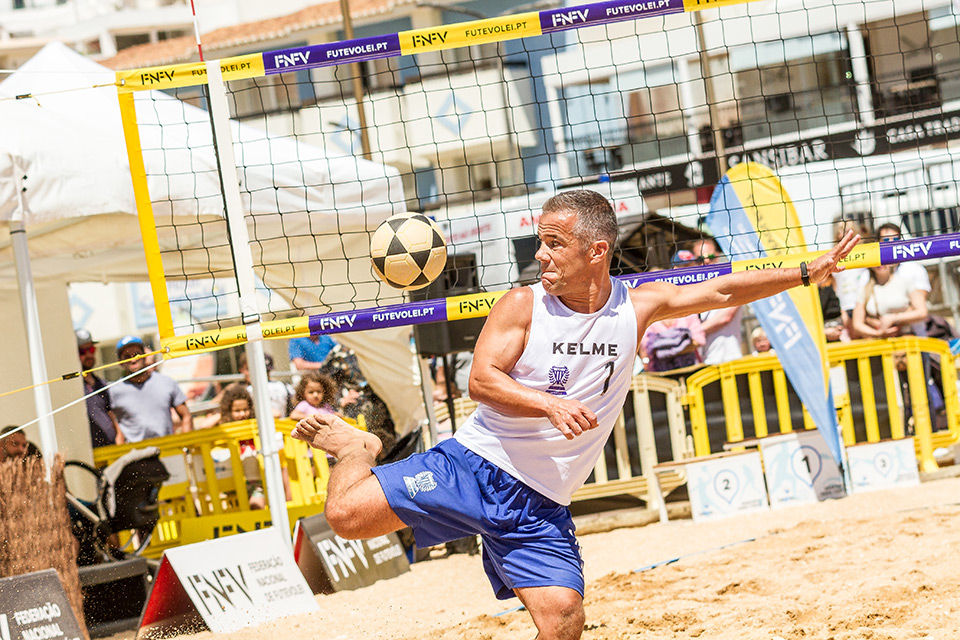 Portugal represented in the Flexvirtual International Footvolley Tournament 2019 - Netherlands