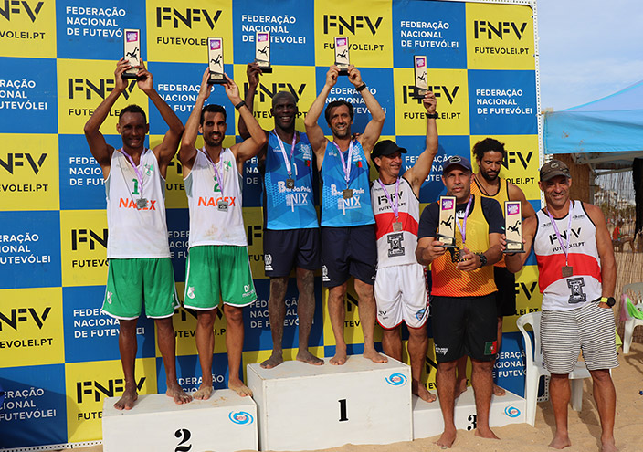 Pedro Salvador and Bonga (CD Póvoa) win 1st stage of the championship