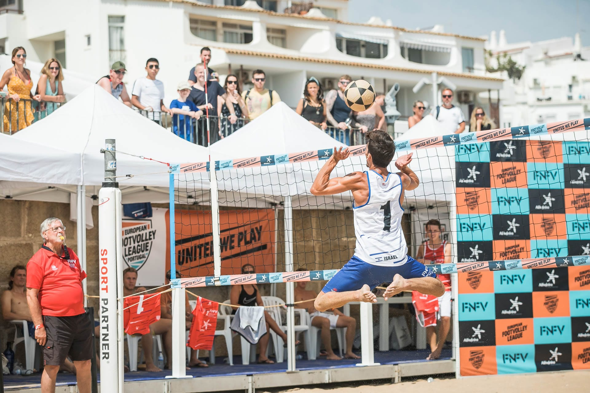 European Footvolley League 2019 - Albufeira, Portugal - Austria 1, Spain, Israel and Italy in the quarterfinals