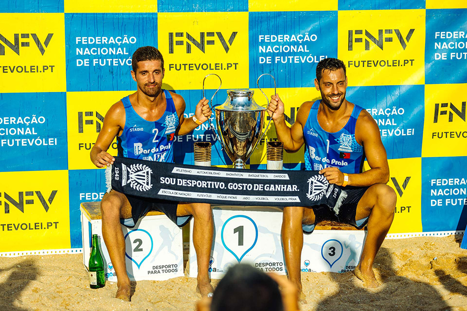 Filipe Santos and Beto Correia, national champions 2019