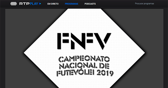 National Footvolley Championship 2019 featured on RTP2