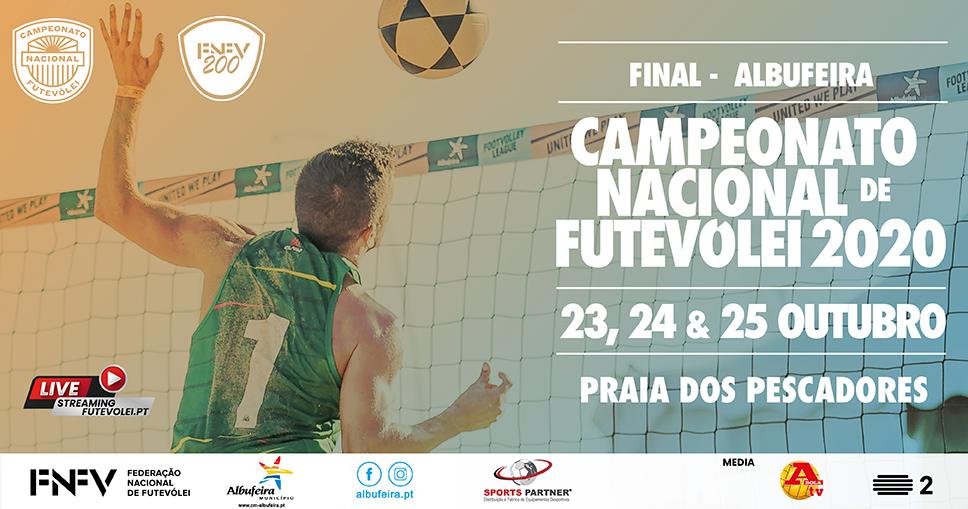 Albufeira hosts 2020 National Footvolley Championship Final