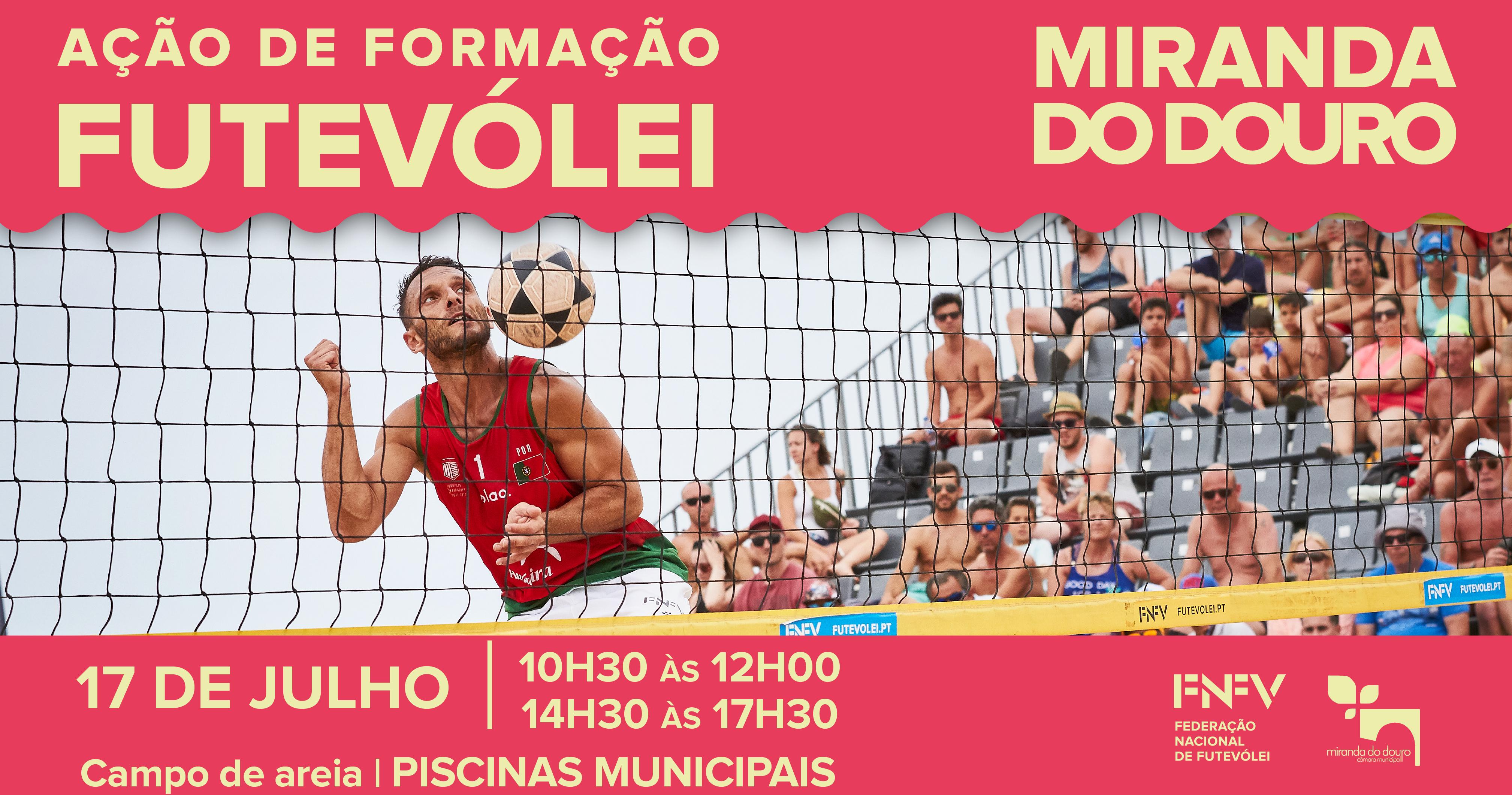 Mirando do Douro acolhe ação de formação de Futevólei