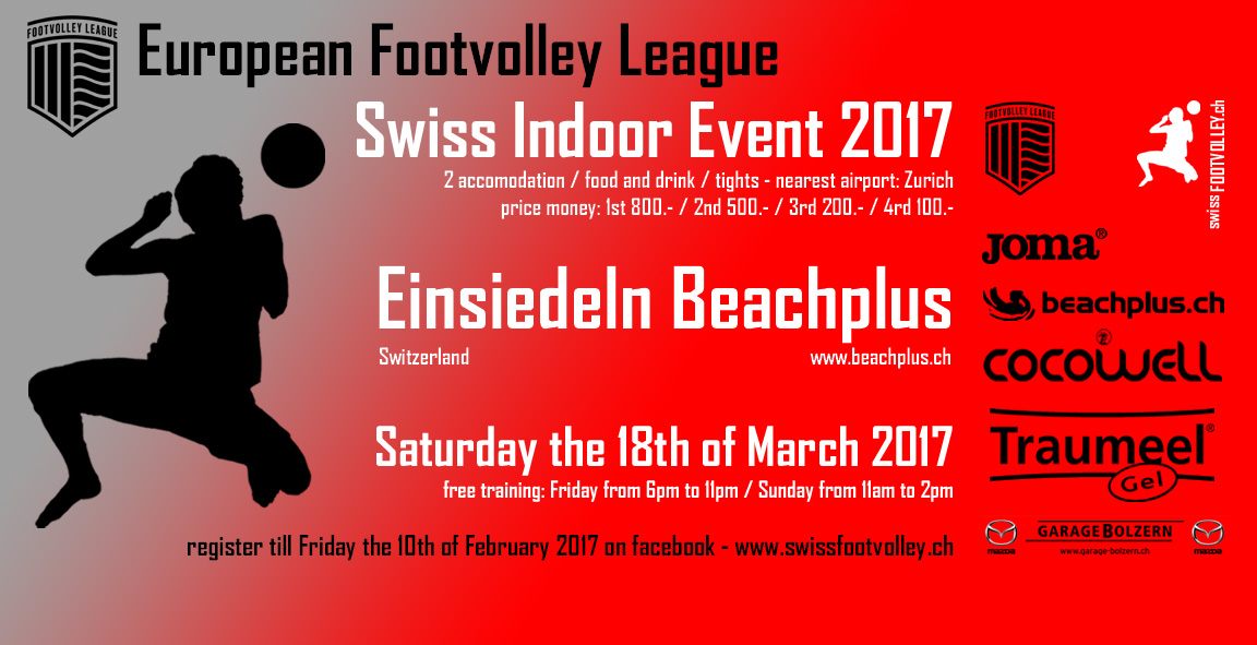 International indoor tournament, Switzerland 2017