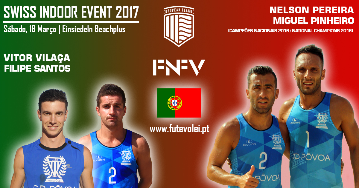 Portuguese teams attend Swiss Indoor Event 2017