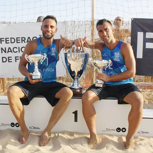 Nelson Pereira e Miguel Pinheiro, campeões nacionais 2016