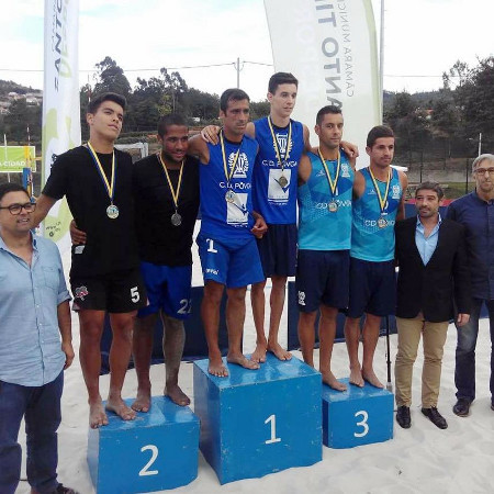 Salvador & Vilaça won the 1st Footvolley Tournament in Santo Tirso