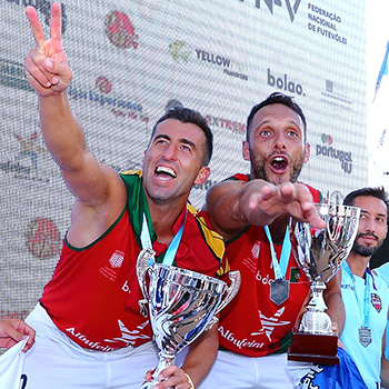 Portugal is European champion! Nelson Pereira and Miguel Pinheiro win against France at the final
