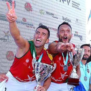 Portugal é campeão europeu! Nelson Pereira e Miguel Pinheiro vencem dupla francesa na final