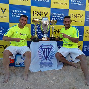 Nelson Pereira e Miguel Pinheiro, campeões nacionais 2017
