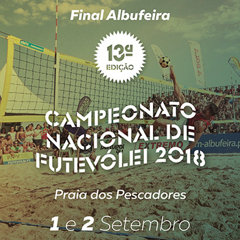 National Footvolley Championship 2018 - Final: Albufeira - LiveStreaming (September, 2nd)