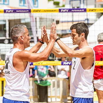 Portugal representado no Flexvirtual International Footvolley Tournament 2019 - Holanda